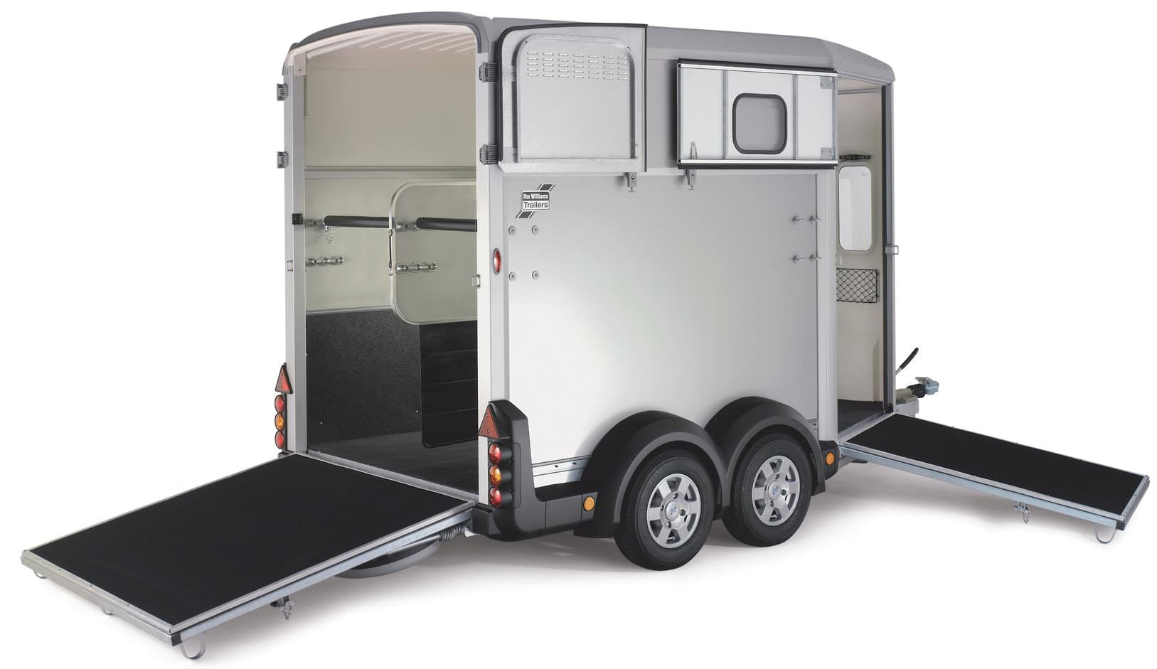 Horsebox and trailer